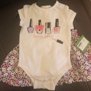 Kate spade little girl outfit